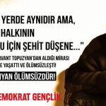 """YDG: """"Nubar Ozanyan yoldaşın yaşamı mücadelemize rehber olacaktır!"""""""