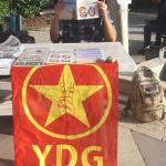 ODTÜ'de YDG'liler kampanya çalışmalarına devam ediyor