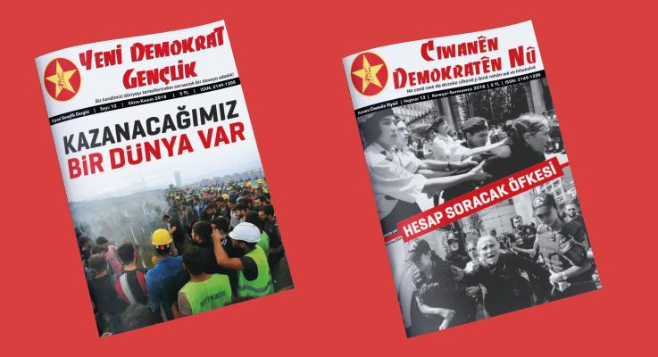 Yeni Demokrat Gençlik dergimizin 12. sayısı çıktı