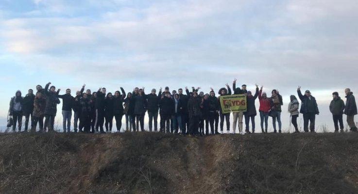 Yeni Demokratik Gençlik Merkezi Kampı 'Hambacher Forst Ziyareti' ile Sonuçlandı