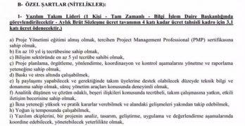 """Ankara Üniversitesi çalışma koşulları; """"Baskı ve stres altında çalışabilmek"""""""