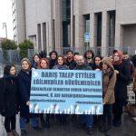 Barış için Akademisyenler yargılanmaya devam ediyor!