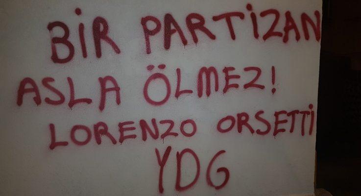 İstanbul'da Lorenzo Orsetti İçin Yazılama