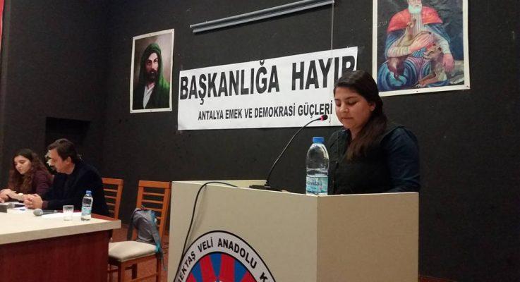 Antalya'da ev baskını: Yeni Demokrat Gençlik okuru gözaltına alındı.