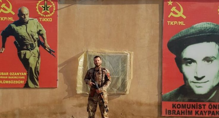 """TİKKO Rojava Komutanlığı """"İtalyan yoldaşımız Tekoşer şehit düştü"""""""