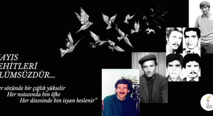 HDK Gençlik Meclisi: Mayıs Şehitleri Ölümsüzdür